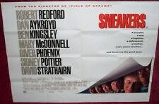 Cinema Poster: SNEAKERS 1992 (Quad) Robert Redford Dan Aykroyd