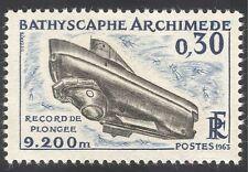 France 1963 Submarine/Boat/Nautical/Diving 1v (n23277)