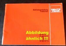 Deutz Fahr Schlepper DX 160 Betriebsanleitung