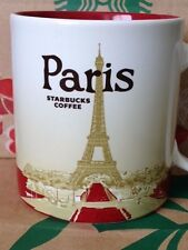 NEW AUTHENTIC Starbucks PARIS v1 (Eiffel Tower) France 16 oz mug DISCONTINUED!