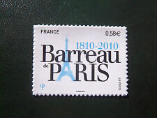 timbres autocollants 2010 / anniversaire du Barreau de Paris autoadhésif n° 508