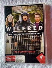 WILFRED - THE SECOND SERIES (DVD, 2- DISC SET) R: ALL, LIKE NEW, FREE POSTAGE