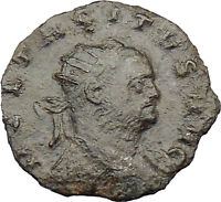 TACITUS Jupiter Zeus Cult  Ancient  Roman Coin Possibly Unpublished   i29704