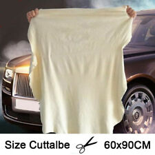 Large Natural Chamois Leather Car Cleaning Cloth Wash Absorbent Drying Big Towel