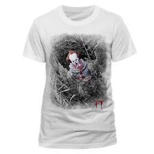 IT Pennywise versteckt Offiziell Film lizensiert T-Shirt Halloween gruslige