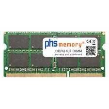 8GB RAM DDR3 passend für Toshiba Satellite L750-1XP SO DIMM 1600MHz Notebook-