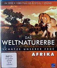 Das Weltnaturerbe - Schätze unserer Erde - Afrika ( Reise / Tours / Doku BLU-RAY