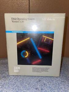 "SEALED IBM DISK OPERATING SYSTEM DOS 3.20 5.25"" DISKETTES 6280057 RARE"