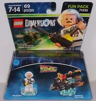 LEGO Dimensions 71230 Back To The Future. Doc Brown. Fun Pack Sealed Package