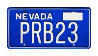 Corvette Summer | Mark Hamill's Stingray | PRB23 | STAMPED Prop License Plate