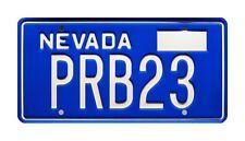 Corvette Summer   Mark Hamill's Stingray   PRB23   STAMPED Prop License Plate