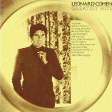 Leonard Cohen - The Greatest Hits SONY RECORDS CD