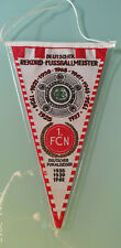 1. FC Nürnberg - Wimpel - Deutscher Pokalsieger 1935 - 1939 - 1962