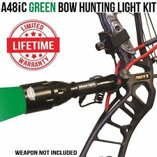 Wicked Lights A48IC Green Bow Hunting Light Kit for Coyotes, Hogs, Bow Fishing