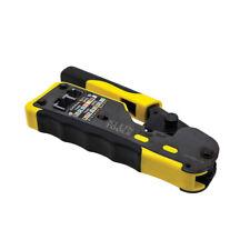 Klein Tools VDV226-110 Ratcheting Pass-Thru™ Modular Crimper