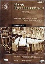 Hans Knappertsbush Concert 1962 DVD Nuovo Nilsson Backhaus Beethoven Wagner