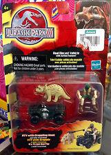 Jurassic Park 3 Die Cast Vehicles ATV with Grappling Hook 2001 Hasbro MOC