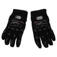 1 paire de gants de moto Gants de course Moto fibres PU Noir XL M2N3