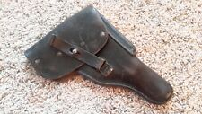 Original Walther P38 / P1 West German Black Leather Holster Post Wwii