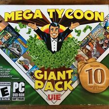 Mega Tycoon: The Giant Pack 10 Complete PC Games in All OPEN BOX UNUSED GAME