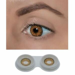 Honey Contact lens & Kit Zero Power Free Lens Solution for Sexy eye party