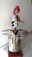 Roman Lorica Segmentata Segmenta Armor + Centurion Helmet Armour Costume Red
