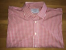Men's charles tyrwhitt shirt 17.5 . Double Cuff. Excellent Condition Big Man