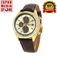 CITIZEN COLLECTION CA0452-01P Eco-Drive Chronograph Watch - 100% Genuine JAPAN