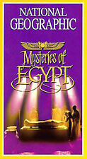 National Geographic's Mysteries of Egypt [VHS] Omar Sharif, Kate Maberly, Timot