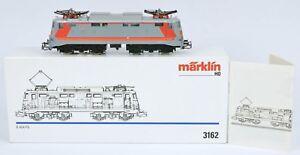 MARKLIN HO 3162 MAINLY METAL ITALIAN FS E424 EX RUNNER LIGHTS V Nr MINT BOXED