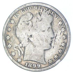 Better 1899 - US Barber 90% Silver Half Dollar Coin Collection Set Break *196