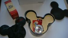 Ladies Retro Style RED Leather Ingersoll Disney Minnie Mouse Diamante Watch