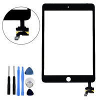 Black Glass Touch Screen Digitizer w/ IC Replacement Repair Part for iPad Mini 3