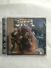 Nerves of Steel PC DOS Game 1995 SoftKey Platinum CD-ROM NEW Vintage Game Sealed