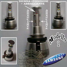 LAMPADA H15 CANBUS 3 LED CREE SAMSUNG 4000LM DRL+ABB Mod. 2 VW Volkswagen / Fiat