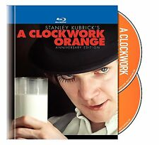 A CLOCKWORK ORANGE (Digibook) Anniversary edt BLU RAY  - Sealed Region free