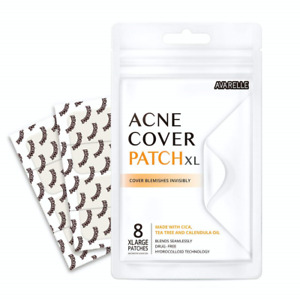 Avarelle Acne Pimple Patch 8 Count Absorbing Hydrocolloid Spot Treatment with /