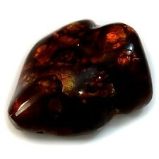 35.5Ct Natural Mexican Fire Agate (approx. 26mm X 21mm)