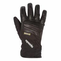 Spada Shield CE Waterproof Ladies Moto Motorcycle Motorbike Textile Gloves Black