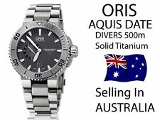 Oris Titanium Case Wristwatches