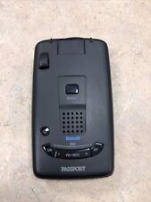 Escort Passport LongRange Radar Detector w/ Multi-Color Oled Please Read