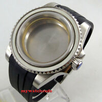 40mm sapphire glasss sub Watch Case fit ETA 2824 2836 miyota 8215 MOVEMENT