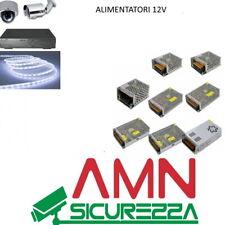 Trasformatore Alimentatore Stabilizzato  telecamere strip led Trimmer 220V 12V