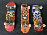 Tech Deck Vintage Finger Board Skateboards Halloween James Craig Blind