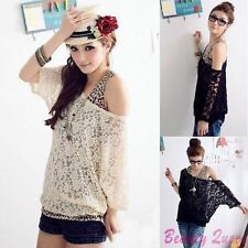 Unbranded Lace Scoop Neck Tops & Shirts for Women