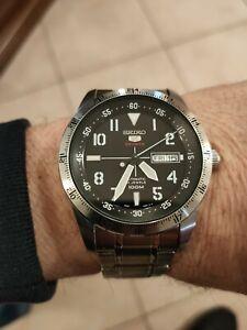 Orologio uomo seiko 5 sport Pilot/Field Watch