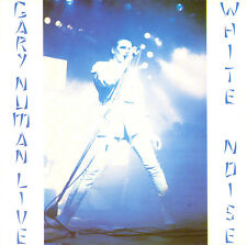 """Gary Numan 'White Noise'  x TWO COPIES vinyl decal/stickers. .5.5"""" square."""
