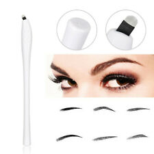 1Pcs Disposable Microblading Pen Embroidery Eyebrow Pencil Ink Manual Tool 18U