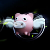 New Flying Pig Car Air Outlet Freshener Perfume Aroma Clip Diffuser Decor Conve