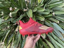New listing Adidas Adizero New Reign Football Cleats Red/Gold EF8607 Men's Size 12